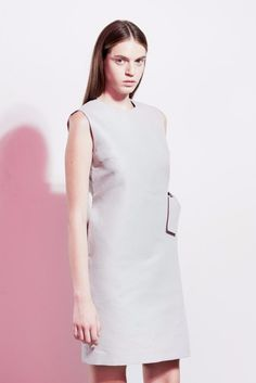 88bb1e1437 The Lorena linen minimalist sleeveless dress (gray)