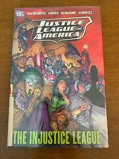 Justice League Of America The Injustice League Vol 3 Hardcover By Mcduffie 9781401218027 Ebay In 2020 Justice League Of America Hardcover Justice League