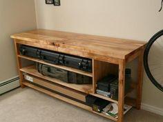 Gun storage / cleaning table