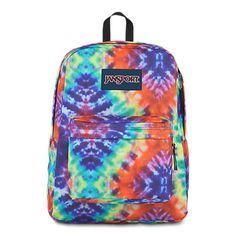 Explore the features of our Superbreak backpack. Available in a variety of colors and patterns, this durable backpack is perfect for anyone on the go. Mochila Jansport, Jansport Superbreak Backpack, Day Backpacks, School Backpacks, Backpack Reviews, School Items, School Stuff, Cool Ties, Backpack Online
