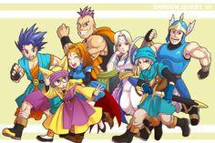 Dragon quest VI Dragon Warrior, Video Game Art, Video Games, 8 Bit, Game Design, Akira, Nerd, Fan Art, Manga
