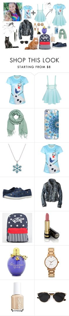 """""""Isa Collins #MoonHunters #SPN"""" by samijacksonwinchester ❤ liked on Polyvore featuring Disney, maurices, Casetify, Keds, American Eagle Outfitters, Vans, Gucci, Kate Spade, Essie and S.W.O.R.D."""