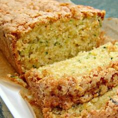 A wonderful soft, loaf cake perfect with a cup of tea! Ingredients 3 eggs 2 cups sugar 1 cup oil *** See notes below 2 cups shredded zucchini 1 cup black walnuts (optional) 3 cups flour tsp baking soda 1 tsp baking powder Pumpkin Zucchini Bread, Lemon Zucchini Bread, Zucchini Bread Recipes, Recipe Zucchini, Zucchini Bread With Pineapple, Zucchini Pancakes, Shredded Zucchini, Köstliche Desserts, Puddings