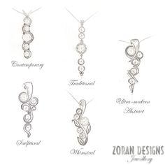 82483981aa3104 Custom Designed Family Birthstone Necklace. Custom Jewelry DesignCustom ...