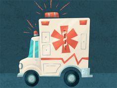 Ambulance by Troy Cummings