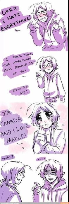 1p and 2p Canada <<< I think that Mattie's just like '...wait I do sound like that'