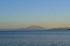 Frutillar is located by Lake Llanquihue. On a clear day you get the view of Osorno Volcan.