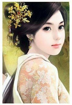 Beautiful Chinese Women, Beautiful Anime Girl, Beautiful Ladies, Classic Girl, Creative Pictures, Beauty Art, Beauty Women, Chinese Art, Asian Art