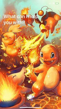pokemon fire starters by michellescribbles on DeviantArt Anime Pokemon, Mega Pokemon, Pokemon Fan Art, Pokemon Apk, Pokemon Stuff, Pokemon Games, Pokemon Mignon, Equipe Pokemon, Pokemon Starters