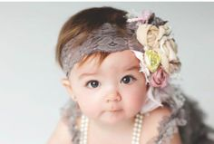 Gorgeous headband!! If I have a girl...