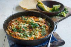Chile Con Queso With Nopalitos - Hispanic Kitchen Hispanic Dishes, Hispanic Kitchen, Mole, Nopalitos Recipe, Fresco, Kitchen Recipes, Cooking Recipes, Mexican Food Recipes, Ethnic Recipes
