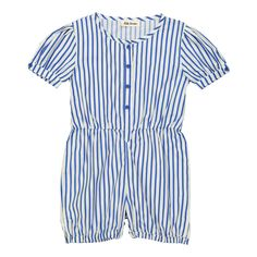 Coco Striped Playsuit Hello Simone Children- A large selection of Fashion on Smallable, the Family Concept Store - More than 600 brands.