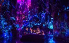 The much-anticipated Pandora - World of Avatar opened this past weekend at Florida's Walt Disney World Resort's Animal Kingdom and it looks spectacular. Walt Disney World Rides, Disney World Attractions, Disney World Theme Parks, Disney World Resorts, Disney Vacations, Disney Trips, Disney Parks, Avatar Disney World, Avatar Land
