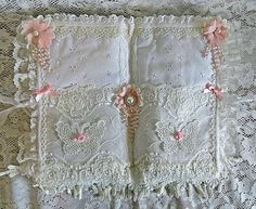 Marie Antoinette fabric pocket book inside view A#