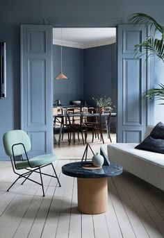 10 Fascinating Useful Ideas: Interior Painting Living Room Apartment Therapy modern interior painting colors.Interior Painting Tips To Get modern interior painting colors. Luxury Interior, Interior Styling, Interior Decorating, Interior Design, Decorating Ideas, Contemporary Interior, Gray Interior, Contemporary Kitchens, Decor Ideas