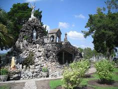 Lourdes grotto, Hostyn, Texas