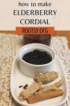 Learn to make your own elderberry cordial to help fight cold and flu season!
