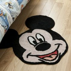 Mickey Mouse Bedroom Curtains | Mickey Mouse Large Rug Mat