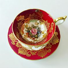 Rose Gold Tea Set