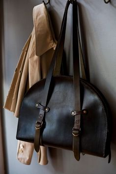 A.B.K leather bag