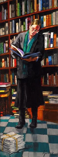 Being surrounded by books has always been, and will always be, my dream.