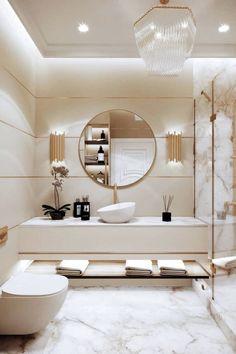 Bathroom Design Luxury, Luxury Interior Design, Home Room Design, Dream Home Design, Dream Bathrooms, Amazing Bathrooms, Modern Bathrooms, Bathroom Inspiration, Bathroom Ideas