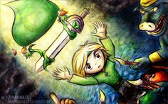 Minish Cap Artwork by Nummonkee (All rights reserved)