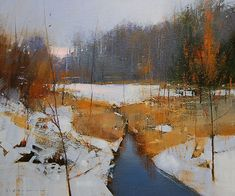 Art by contemporary artist David Lidbetter. Paintings, mixed media and drawings. Abstract Landscape Painting, Watercolor Landscape, Landscape Art, Landscape Paintings, Impressionist Landscape, Watercolor Artists, Abstract Oil, Abstract Paintings, Watercolor Illustration