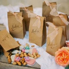 Spanish wedding favors #wedding