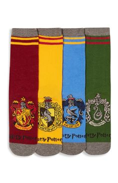 """""""Harry Potter Hogwarts"""" Socken, 4er-Pack"""