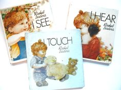 I Touch I See I Hear Three Vintage by lizandjaybooksnmore on Etsy