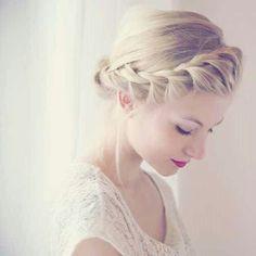 soft braided updo hairstyle 4 Elegant Braided Updo Hairstyles