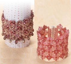 Pattern bijoux: Bracciale Multiple Stitches
