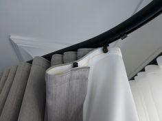 Ripplefold draperies and sheers  Verde Design Studio   Designer Michele Fitzpatrick   Draperies by It's Oksana™
