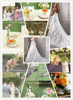 Spring Wedding #Inspiration Board