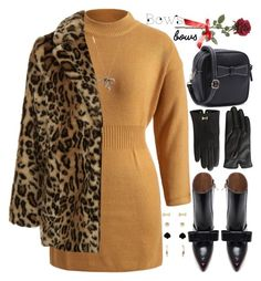 """""""Put a Bow on It!"""" by grozdana-v ❤ liked on Polyvore featuring Jessica Carlyle, New Look, Marni, Marc Jacobs, Ted Baker and bows"""