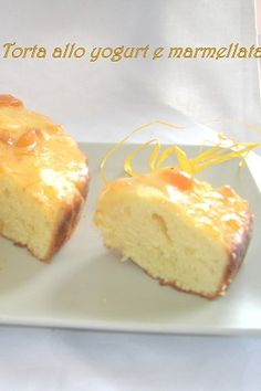 Torta allo yogurt e marmellata Yogurt Cake, Sweet Recipes, Cheesecake, Cakes, Desserts, Food, Tailgate Desserts, Deserts, Cake Makers