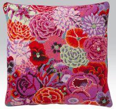 Rosa Tulpan: Blomstrande kuddar