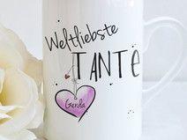 """Weltliebste TANTE"" - Tasse"