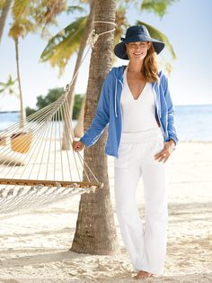 Women's Summer Breeze Pants - Solumbra: All Day 100+ SPF Sun Protective Clothing - Style# 23200