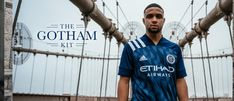 The Gotham Kit | 2020-21 New York City FC Away Kit | New York City FC