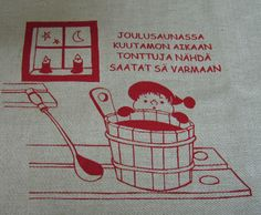joulusaunassa -