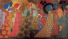 These colors and patterns are outrageous! Vittorio Zecchin (1878-1947)