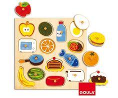 Goula PUZZLE Alimentos