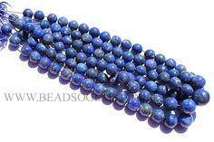 Round Smooth Beads In Lapis Lazuli Beads, (Quality B), 10.5 to 15 mm, 36 cm, LA-009, Semiprecious Gemstone Beads #lapislazuli #lapislazulibeads #lapislazulibead #lapislazuliround #roundbeads #beadswholesaler #semipreciousstone #gemstonebeads #beadsogemstone #beadwork #beadstore #bead