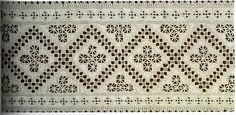 norwegian Drawn Work (Hardanger embroidery)Hardanger embroidery is a type of embroidery, that resembles Antep embroidery (Antepisi), where white threads are embroidered onto white or a beige background using counted and draw thread work techniques.