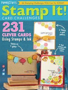 Paper Crafts Stamp It! Card Challenges Sneak Peek
