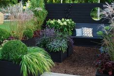 My idea garden, 55 square, at Sofiero Castle - Almbacken Garden Design Garden Fencing, Garden Planters, Hall Deco, Landscape Design, Garden Design, Small Back Gardens, Scandinavian Garden, Backyard Ideas For Small Yards, Turbulence Deco