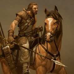 "Hobilars are the fastest troops that the Trinity forces field. The horses chosen are bred for speed and agility rather than size or strength and are ridden by sons and daughters of ""lesser"" familie..."