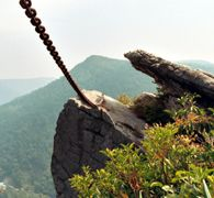 """Chained Rock, Pineville KY """"My Hometown"""" Love It!""""❤️"""